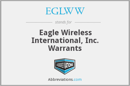 What does EGLWW stand for?