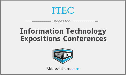 ITEC - Information Technology Expositions Conferences