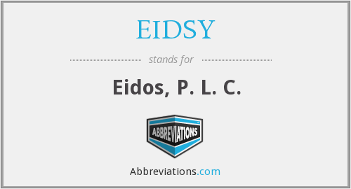 What does EIDSY stand for?