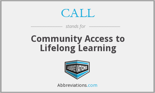 CALL - Community Access to Lifelong Learning