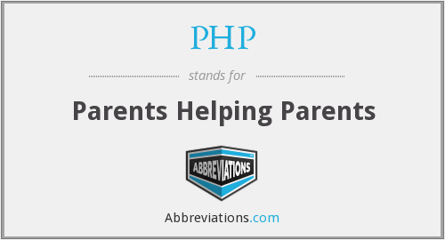 PHP - Parents Helping Parents