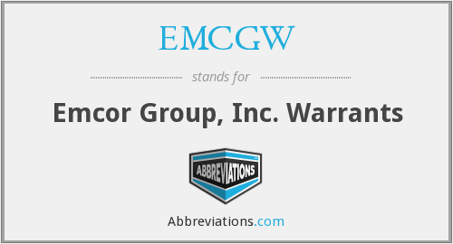 What does EMCGW stand for?