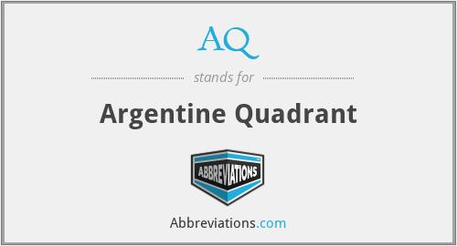 AQ - Argentine Quadrant