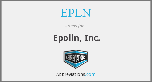 What does EPLN stand for?