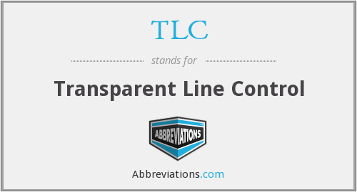 TLC - Transparent Line Control