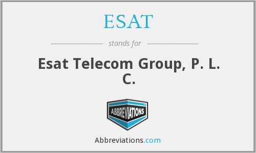 What does ESAT stand for?