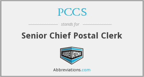 What does PCCS stand for?