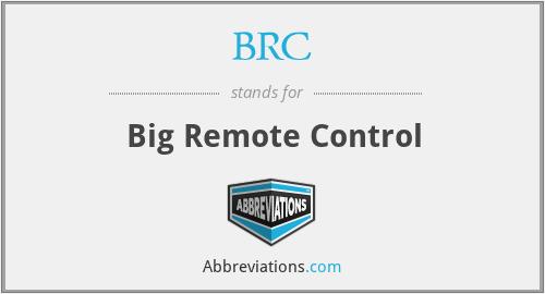 BRC - Big Remote Control
