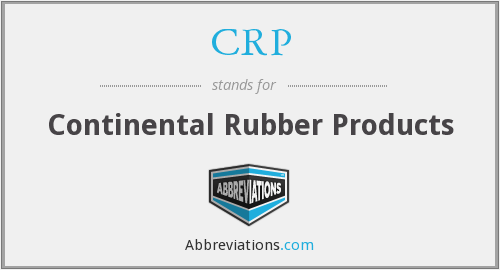 CRP - Continental Rubber Products