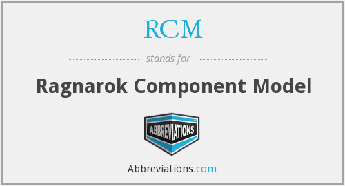 RCM - Ragnarok Component Model