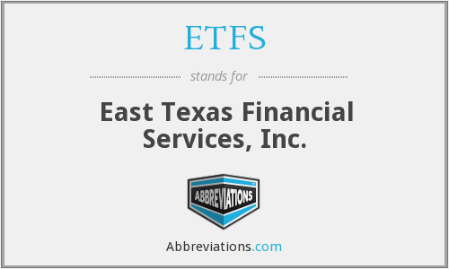 What does ETFS stand for?