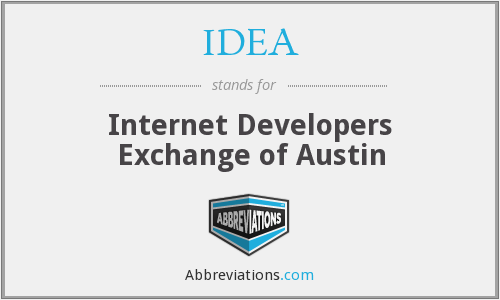 IDEA - Internet Developers Exchange of Austin