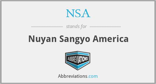 NSA - Nuyan Sangyo America