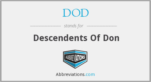 DOD - Descendents Of Don