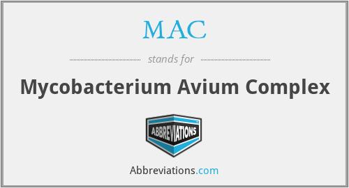 MAC - Mycobacterium Avium Complex