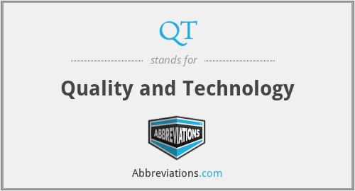 QT - Quality and Technology