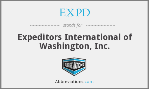 EXPD - Expeditors International of Washington, Inc.