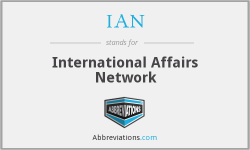 IAN - International Affairs Network