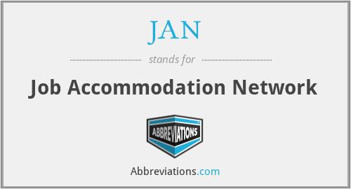 JAN - Job Accommodation Network