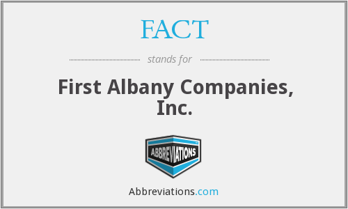 FACT - First Albany Companies, Inc.