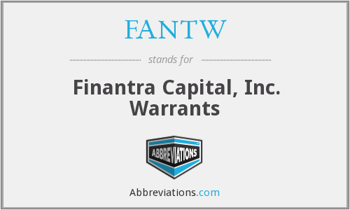 What does FANTW stand for?