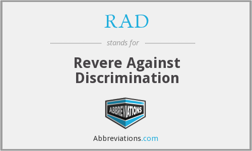 RAD - Revere Against Discrimination