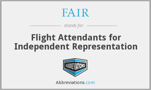 FAIR - Flight Attendants for Independent Representation