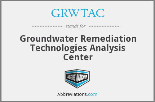 What does GRWTAC stand for?