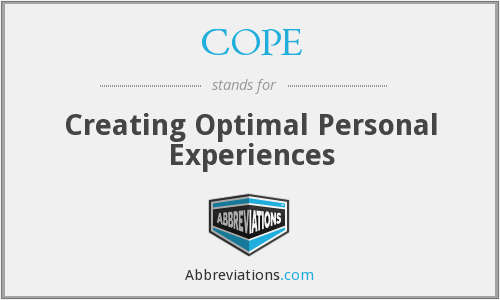 COPE - Creating Optimal Personal Experiences