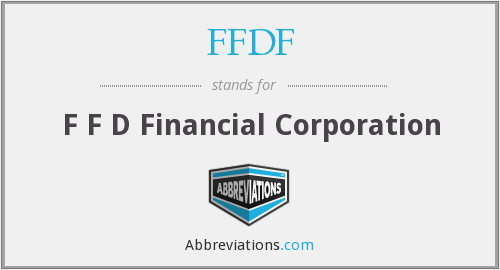 What does FFDF stand for?