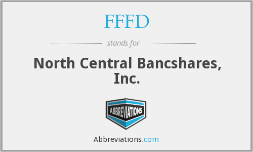 FFFD - North Central Bancshares, Inc.