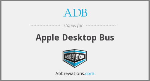 ADB - Apple Desktop Bus