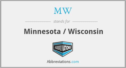 MW - Minnesota / Wisconsin