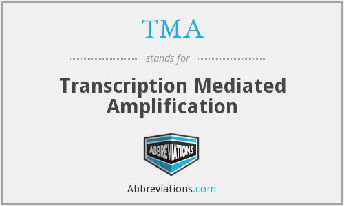 TMA - Transcription Mediated Amplification
