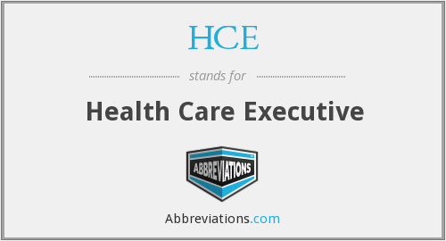 HCE - Health Care Executive