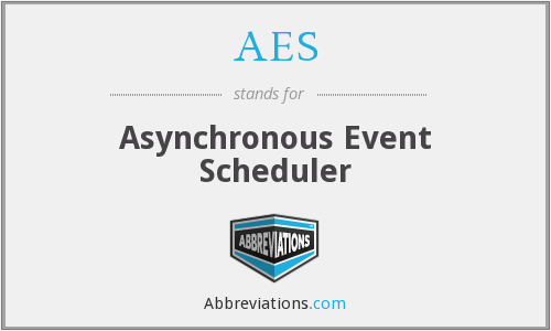 AES - Asynchronous Event Scheduler