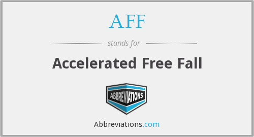 AFF - Accelerated Free Fall