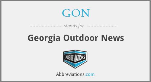 GON - Georgia Outdoor News