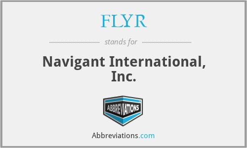 FLYR - Navigant International, Inc.