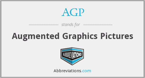 AGP - Augmented Graphics Pictures