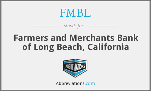 What does FMBL stand for?