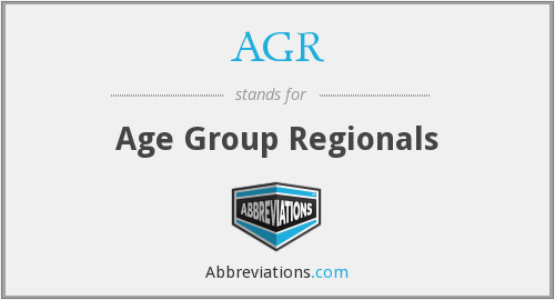 AGR - Age Group Regionals