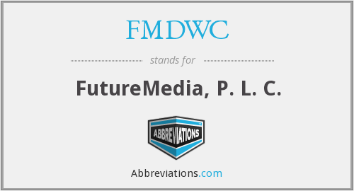 What does FMDWC stand for?