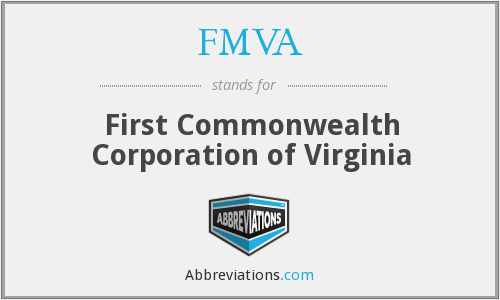 What does FMVA stand for?