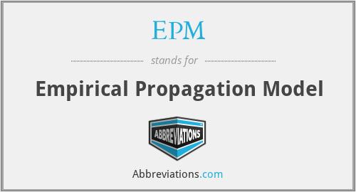 EPM - Empirical Propagation Model