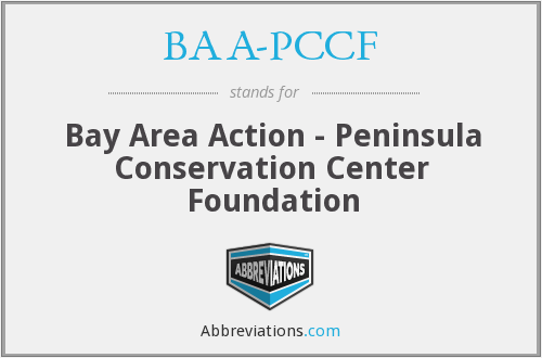 What does BAA-PCCF stand for?