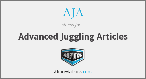 AJA - Advanced Juggling Articles
