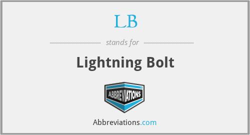 Lb Lightning Bolt