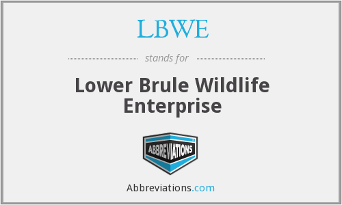What does LBWE stand for?
