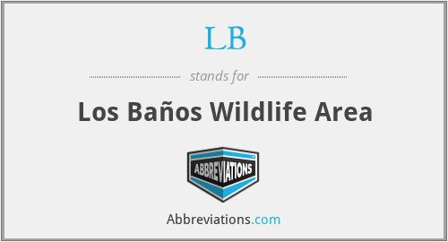 LB - Los Baños Wildlife Area